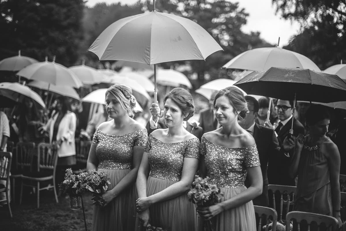 tipi wedding berkshire so much rain