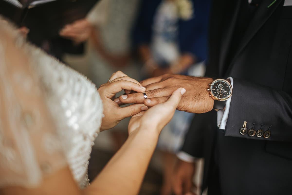 tipi wedding berkshire ring on