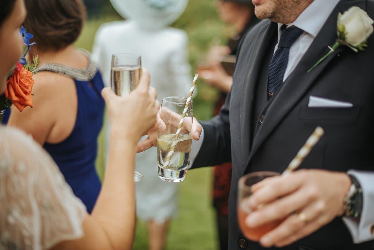 tipi wedding berkshire drinks reception