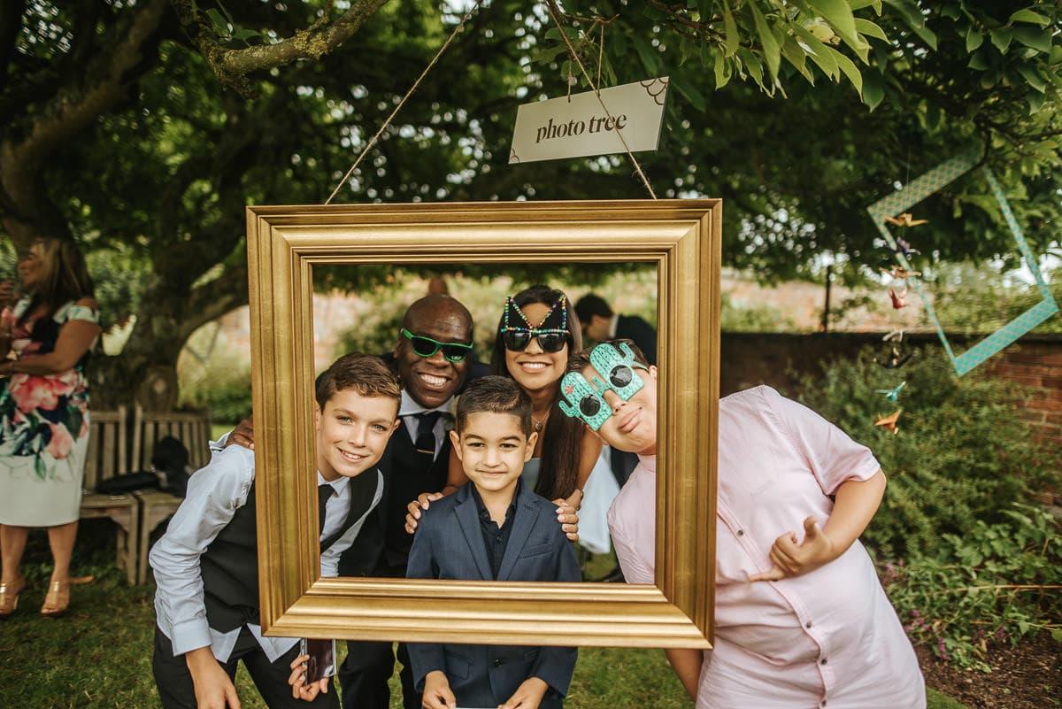 tipi wedding berkshire photobooth