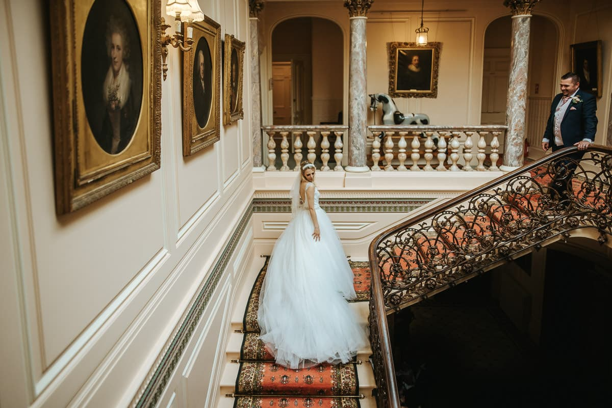 mount ephraim gardens wedding staircase