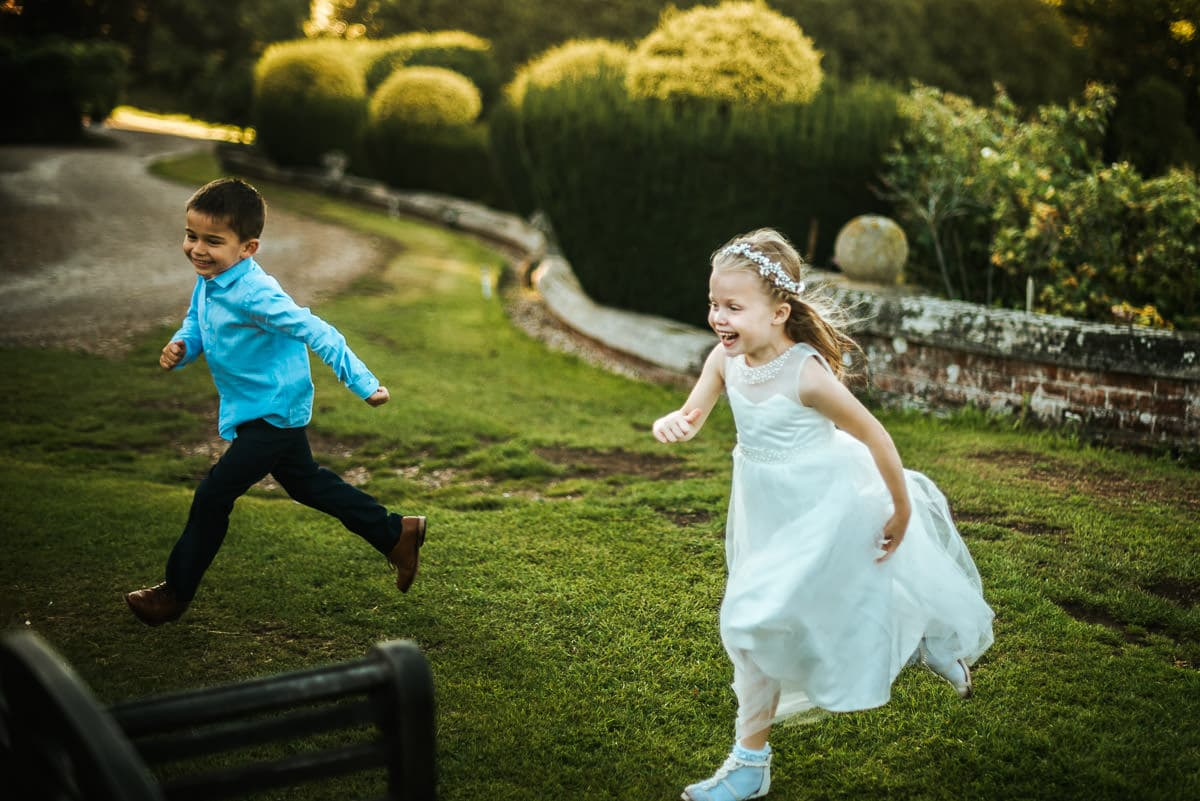 mount ephraim gardens wedding kids