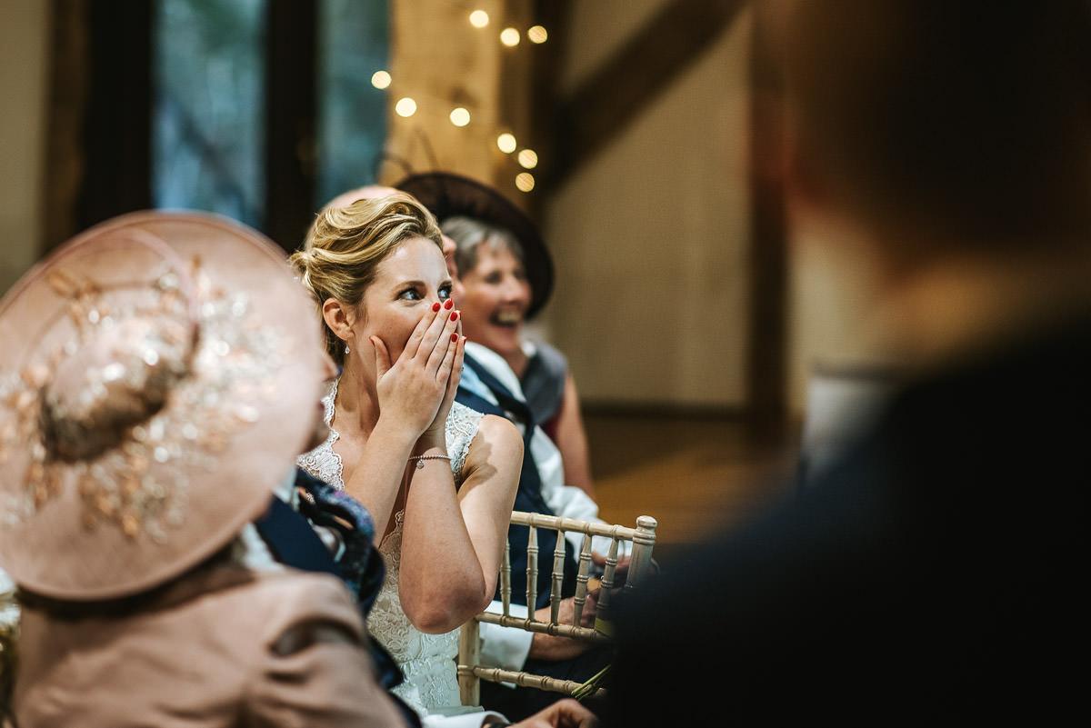 winchester wedding tythe barn speech