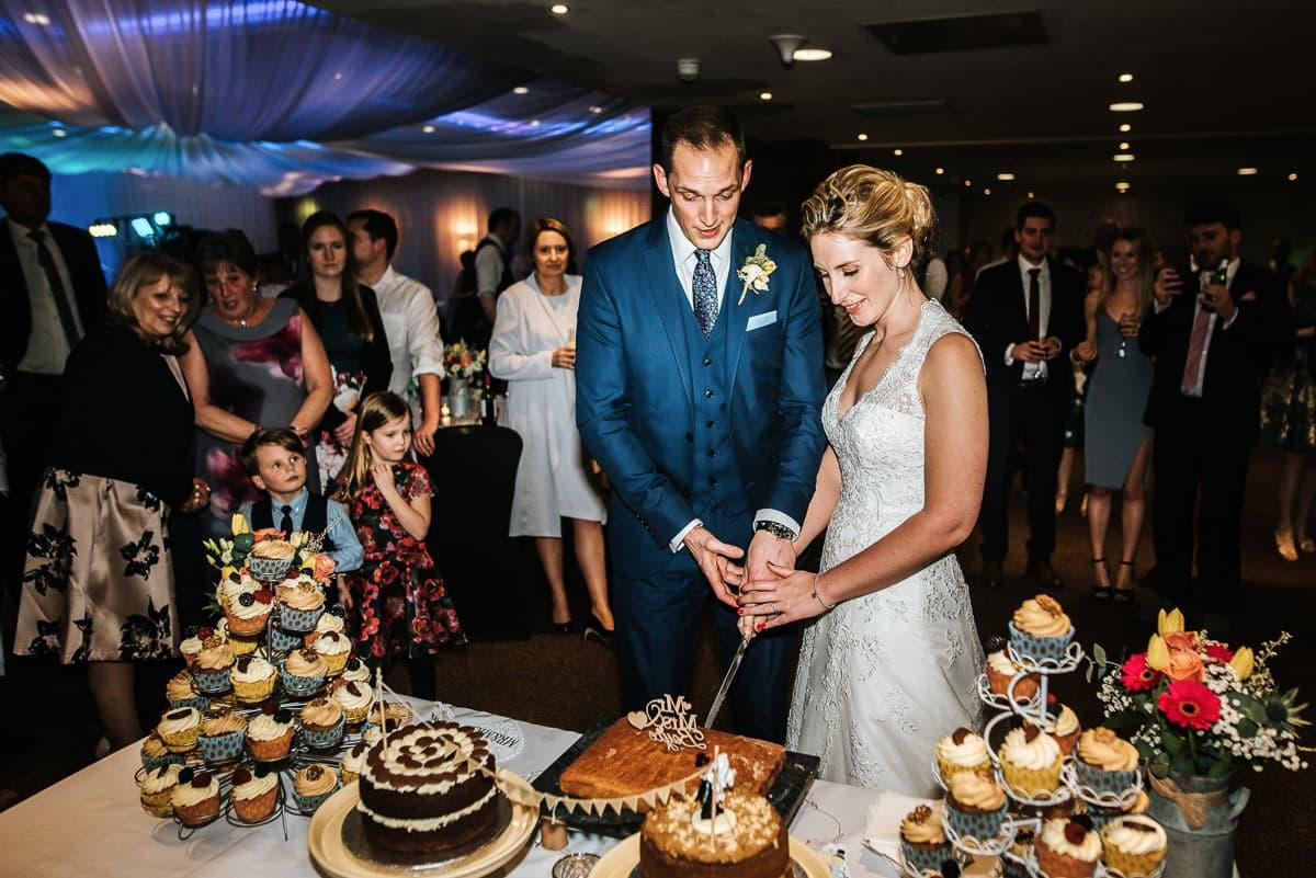 winchester wedding cake cut