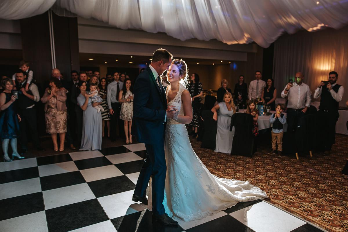 winchester wedding first dance