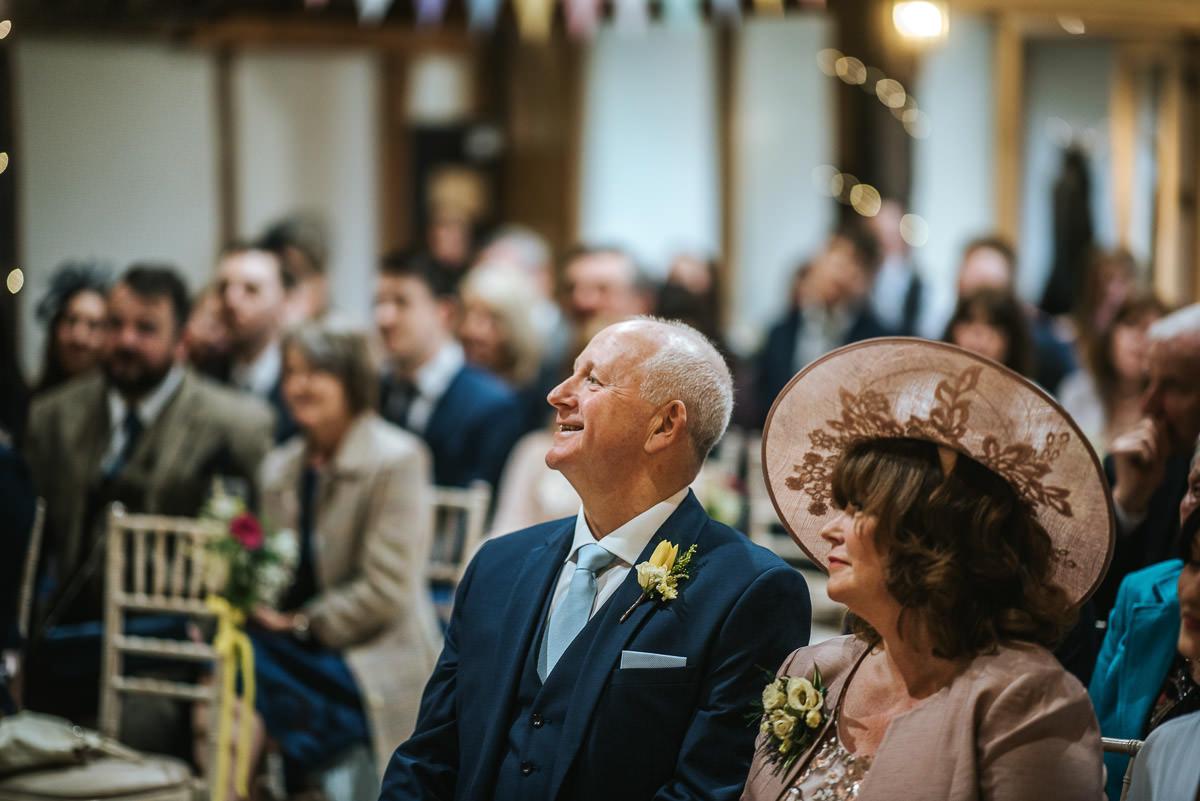 norton park wedding ceremony dad