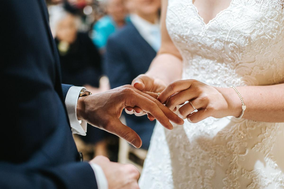 norton park wedding ceremony ring on