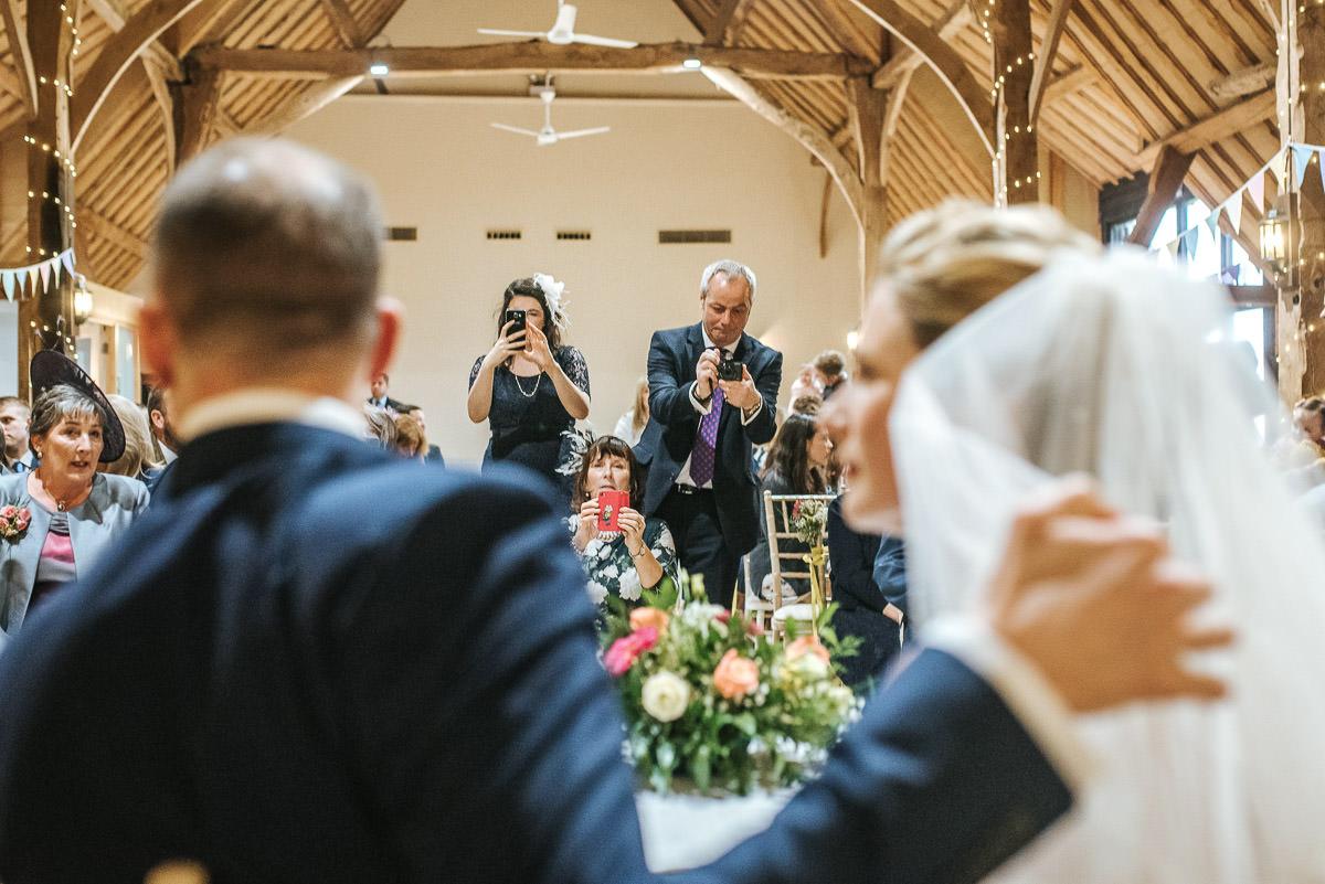 norton park wedding ceremony paparazzi