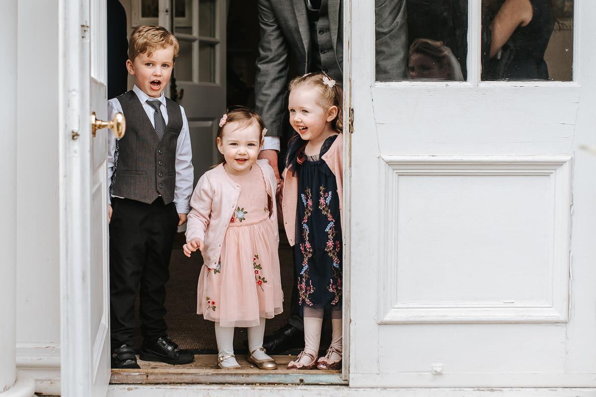 norton park wedding drinks reception bride