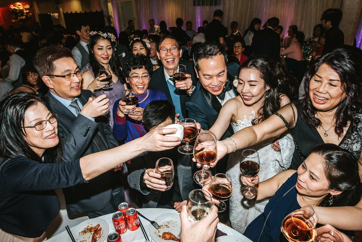 chinese wedding london yi-ban toast