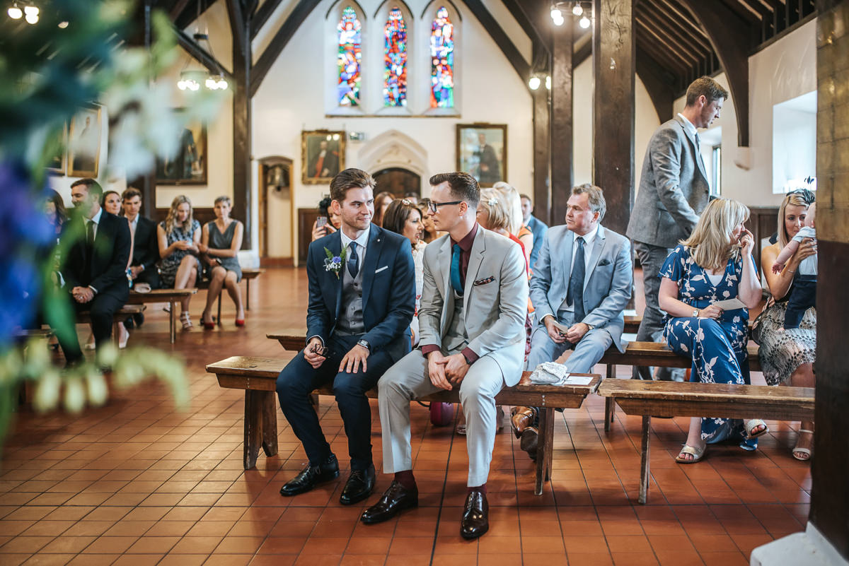 wedding photos reading bradfield college ceremony