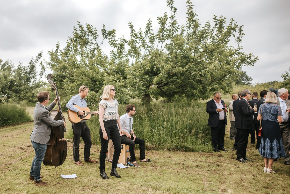 kent wedding photography the band