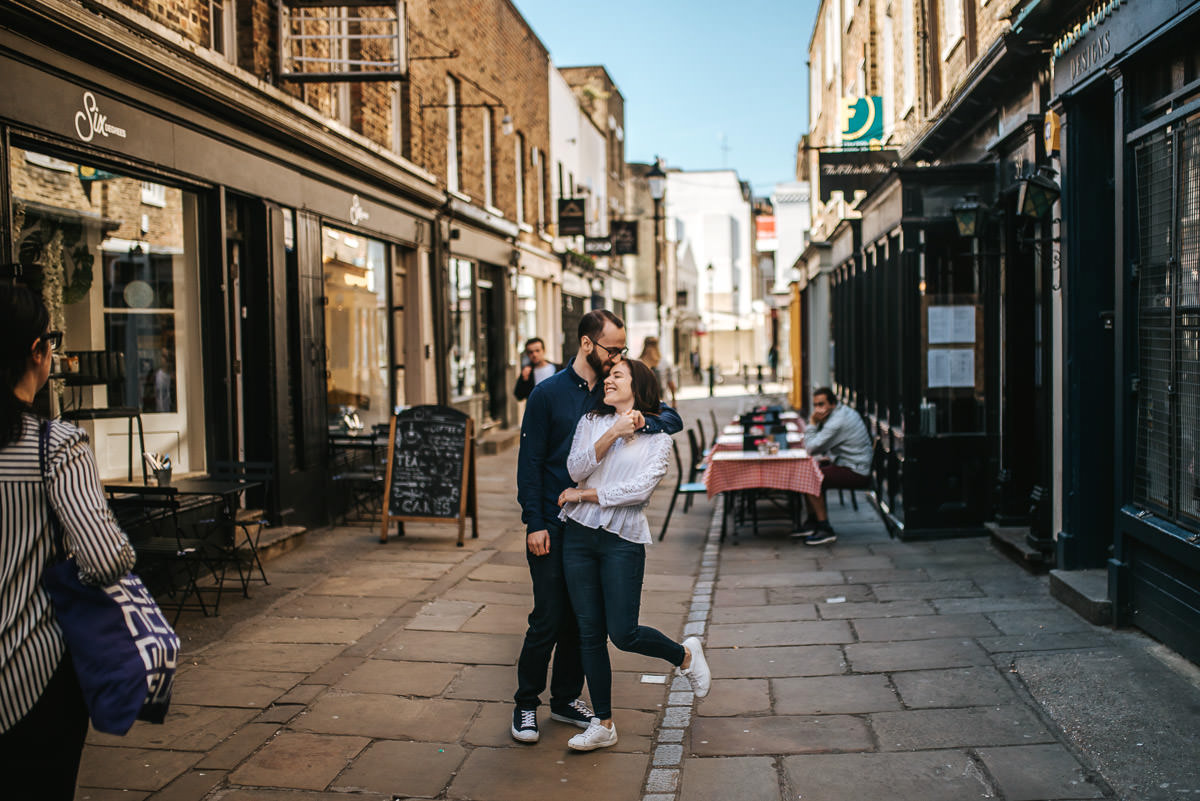 london engagement photography camden town