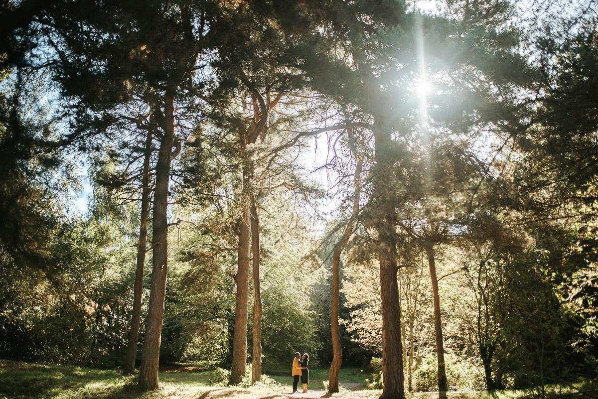 london engagement photography hampstead heath