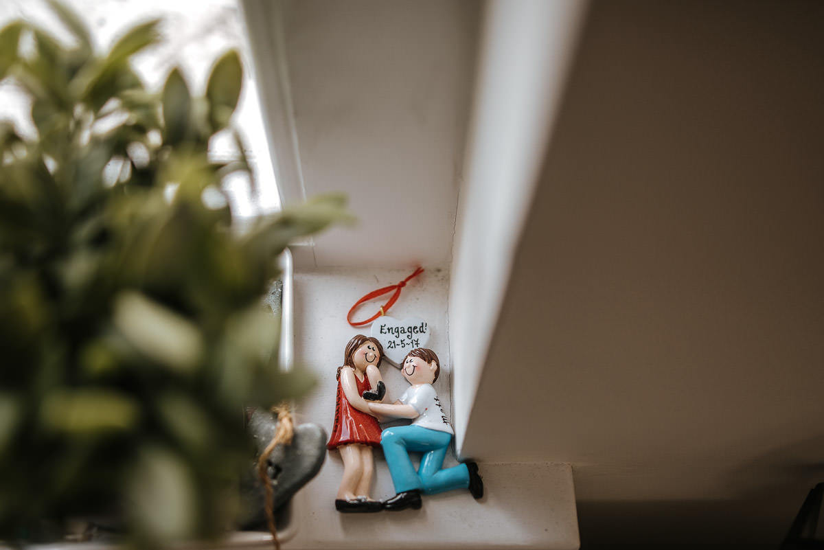 islington town hall wedding photography engagement figurines