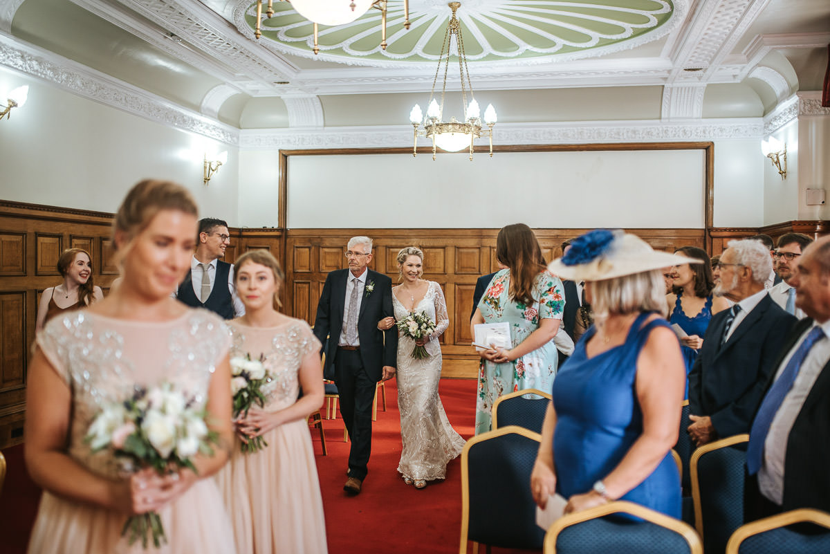 islington town hall wedding here comes the bride