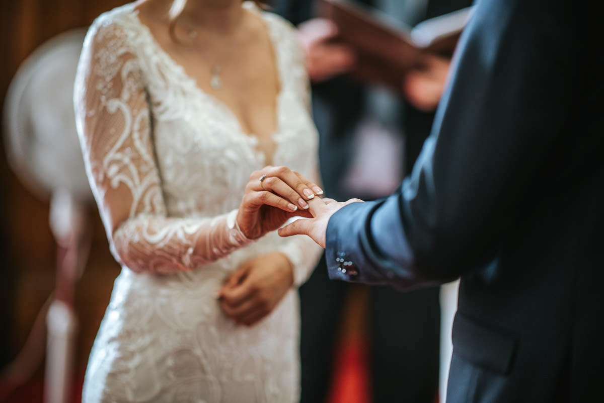 islington town hall wedding ceremony rings on