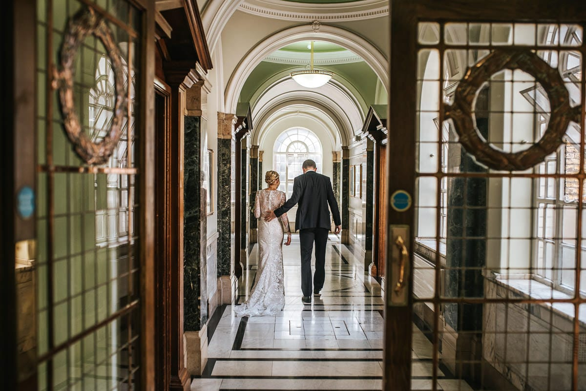 islington town hall wedding couple photo shoot