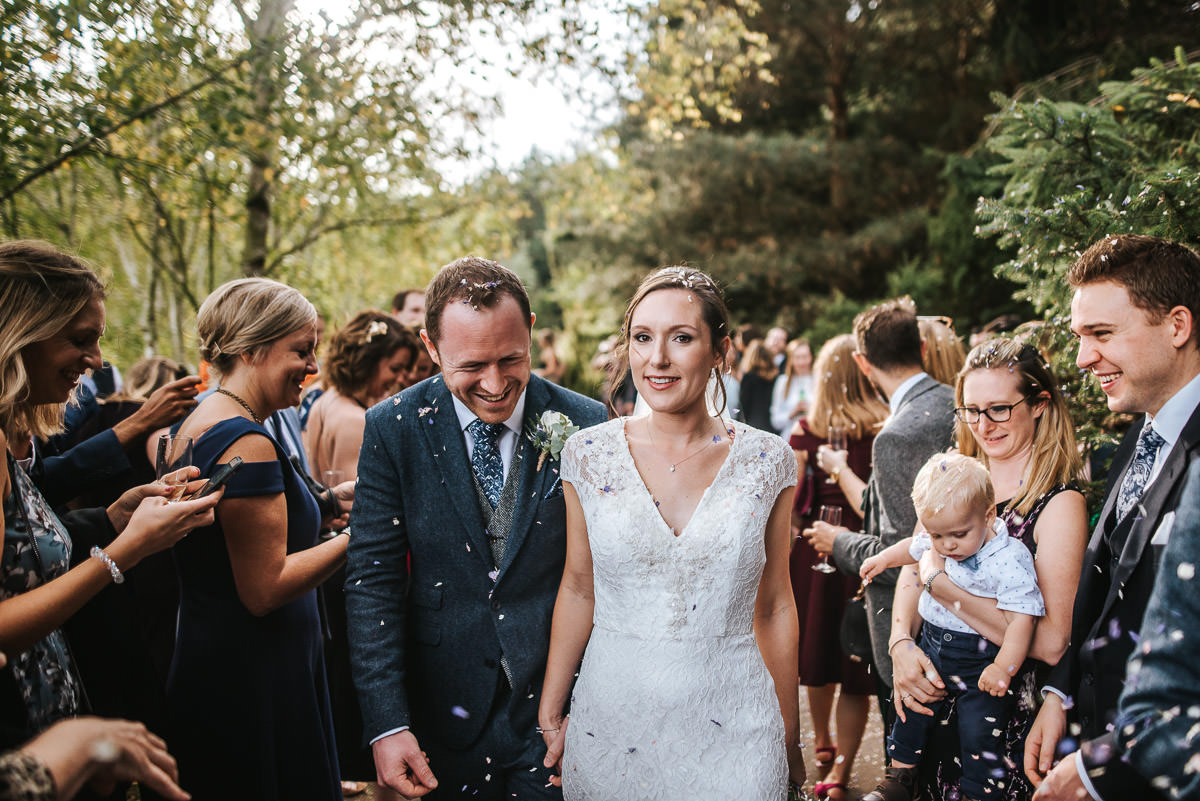 london wetland centre wedding confetti throw