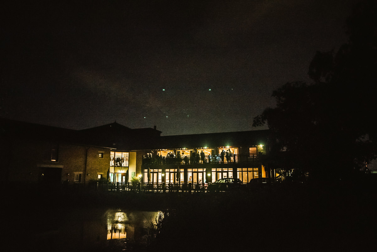 london wetland centre wedding venue at night