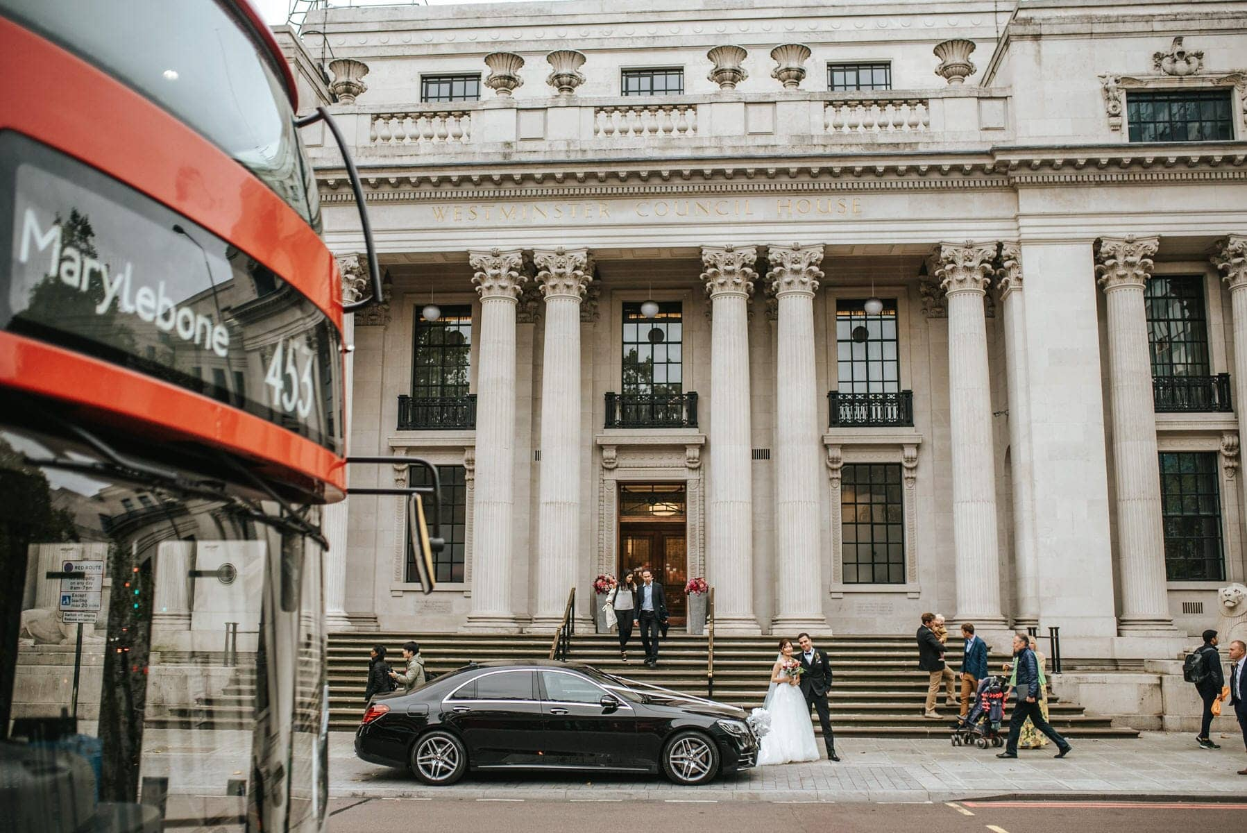 old marylebone town hall wedding photographers