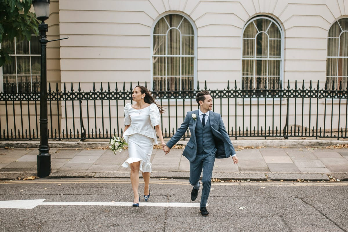 old marylebone wedding photos
