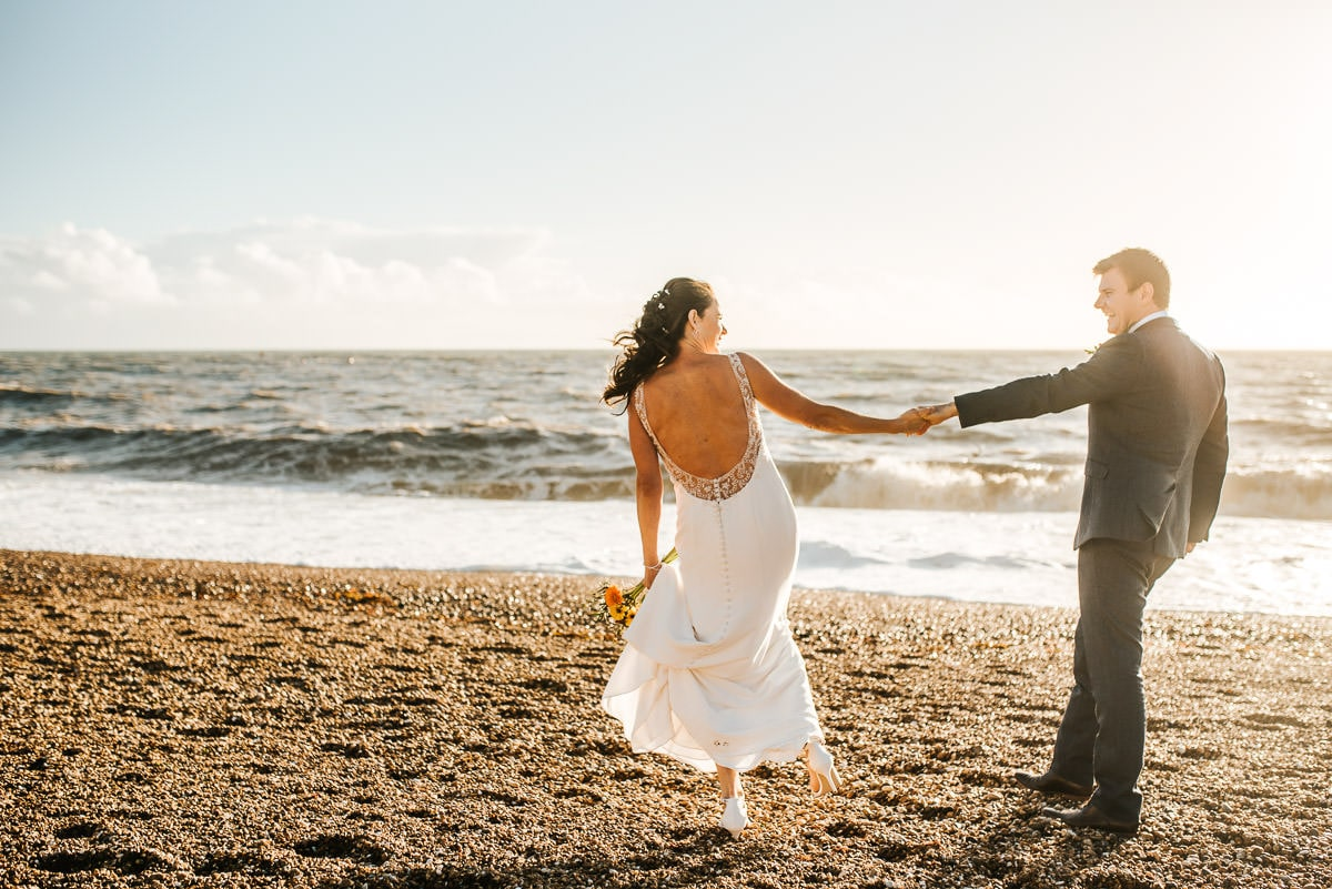 Brighton Wedding Photographer-Pangdean Barn Wedding 34