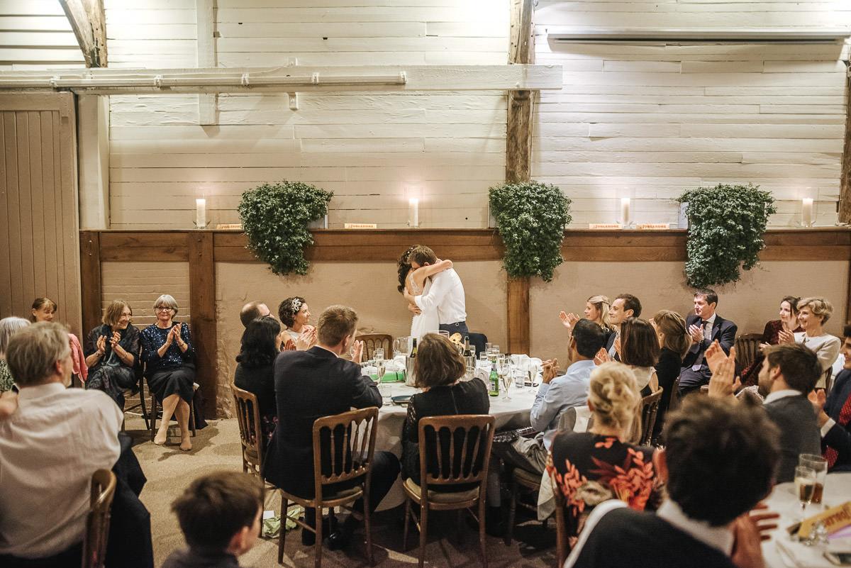 Brighton Wedding Photographer-Pangdean Barn Wedding 77