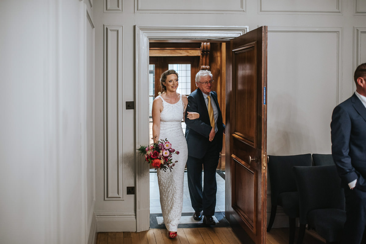 old marylebone wedding ceremony