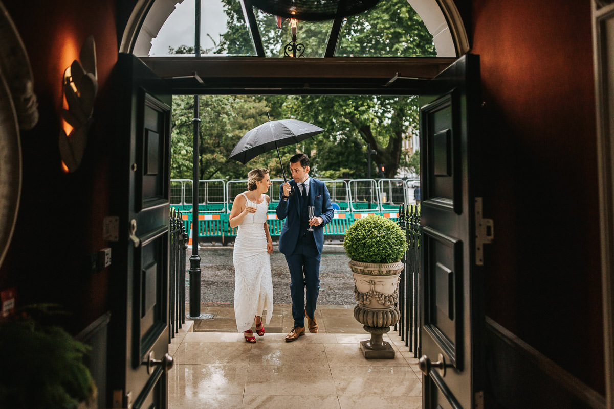 old marylebone wedding couple shoot