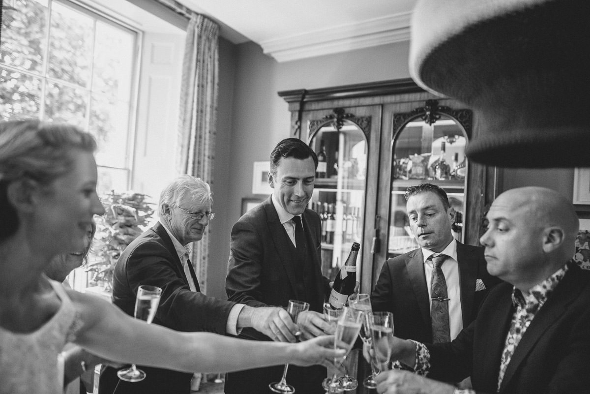 old marylebone wedding drinks reception