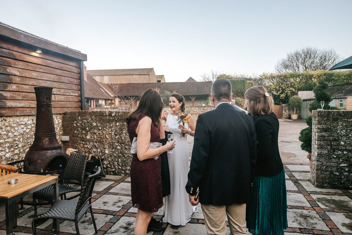 Brighton Wedding Photographer-Pangdean Barn Wedding 48