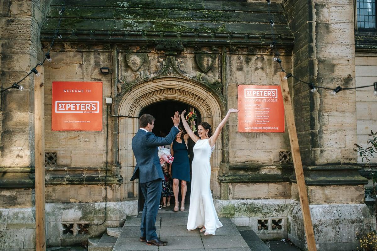 Brighton Wedding Photographer-Pangdean Barn Wedding 26