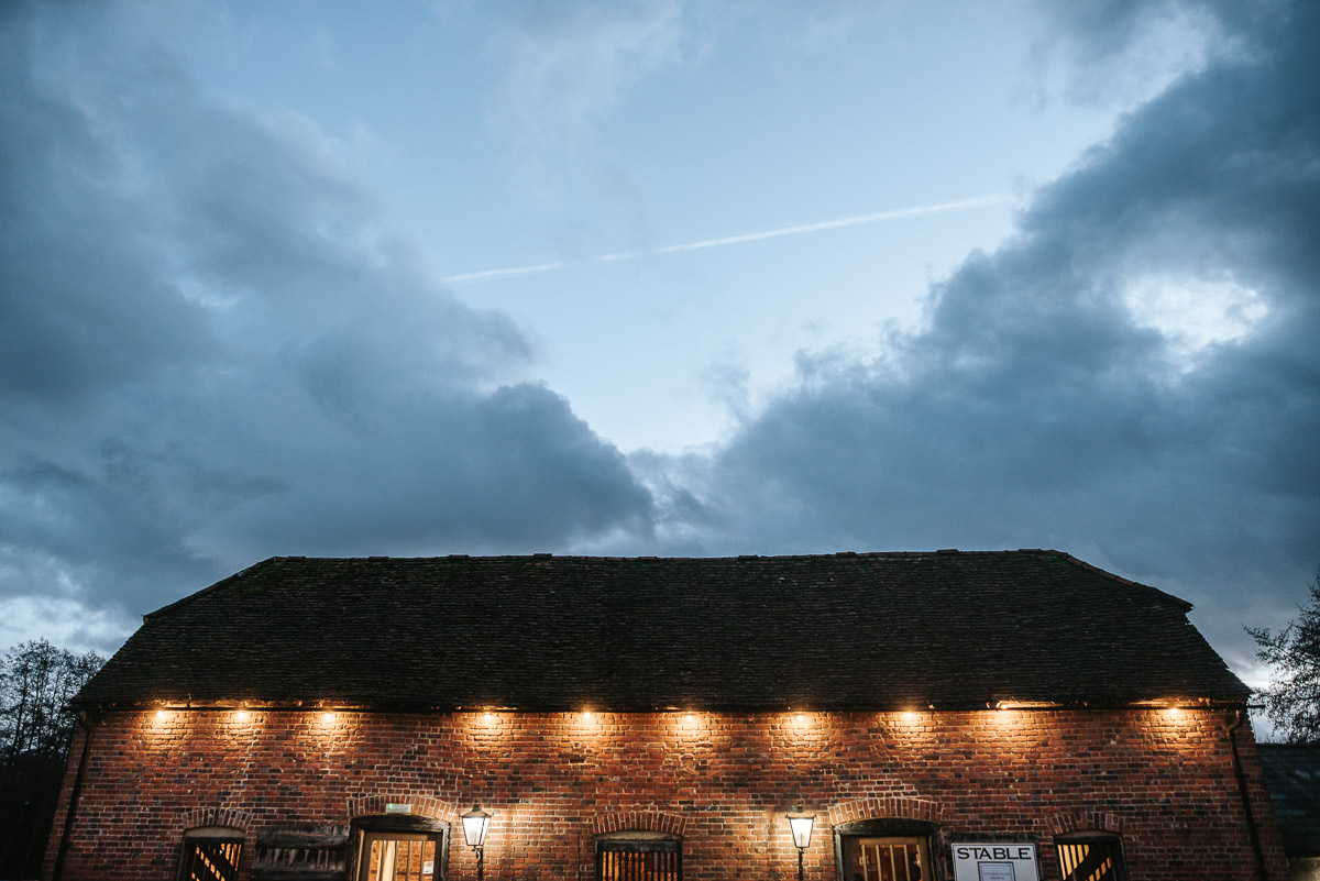 tewin bury farm wedding stables