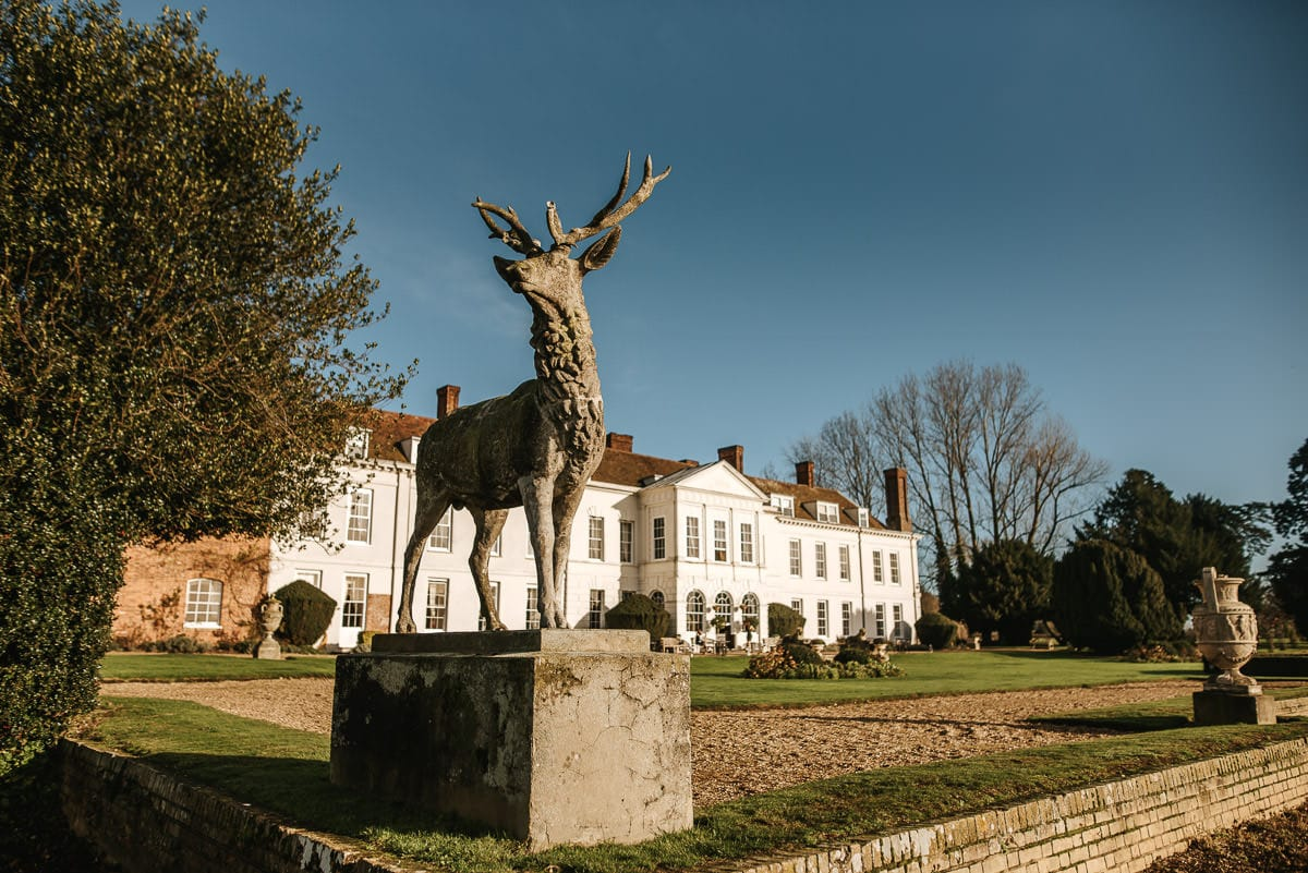 gosfield hall wedding exteriors