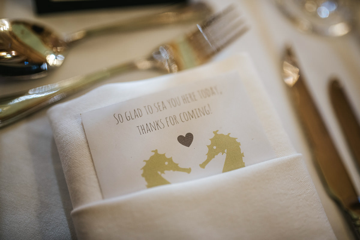 gosfield hall wedding breakfast room invitation