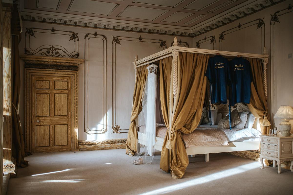 gosfield hall wedding bridal suite