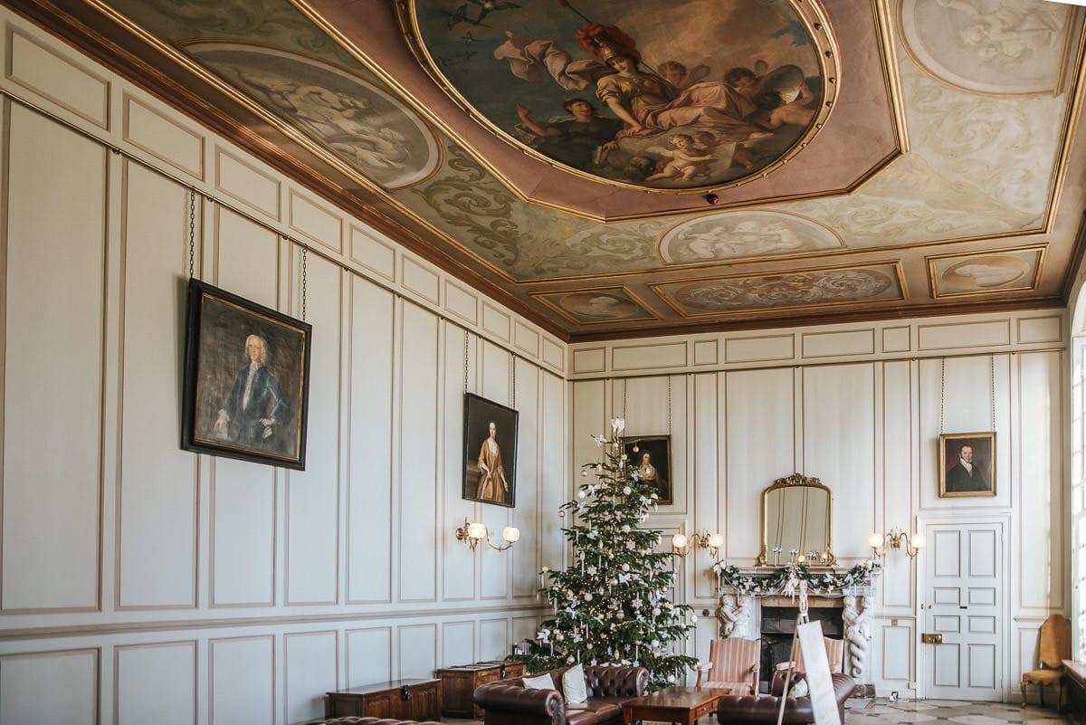 gosfield hall wedding entrance hall