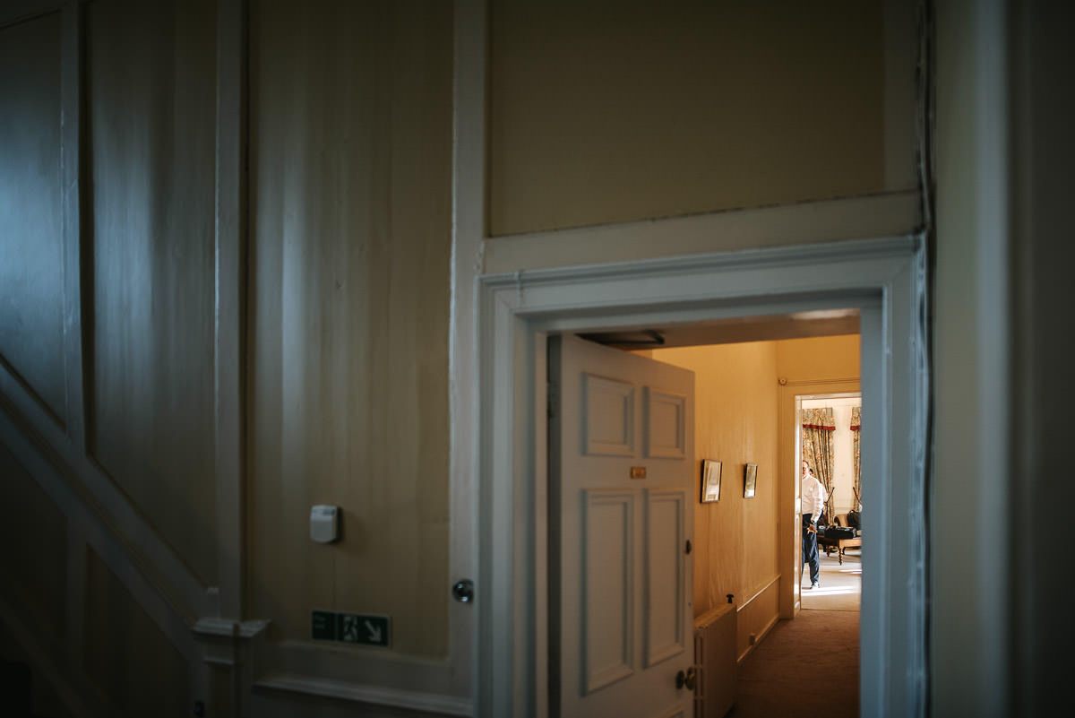 gosfield hall wedding grooms room