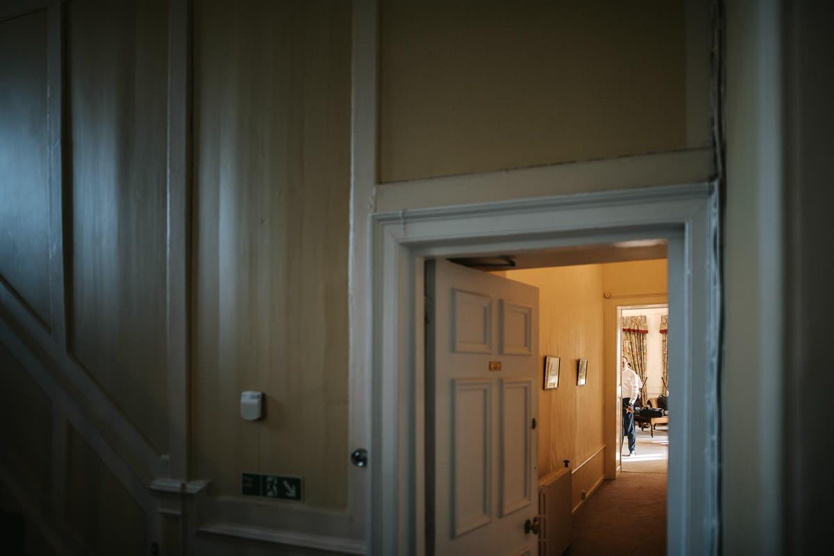 gosfield hall wedding grooms room