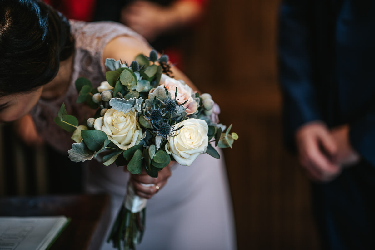gosfield hall wedding bouquet