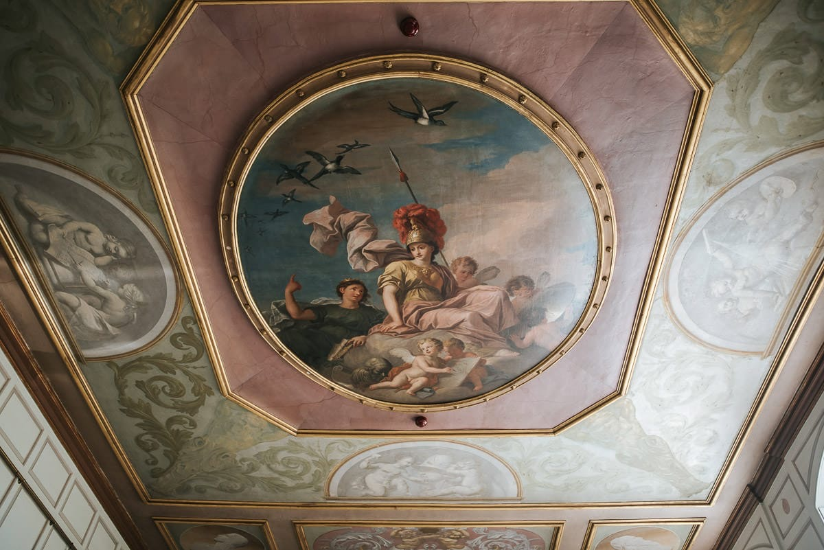 gosfield hall ceiling painting