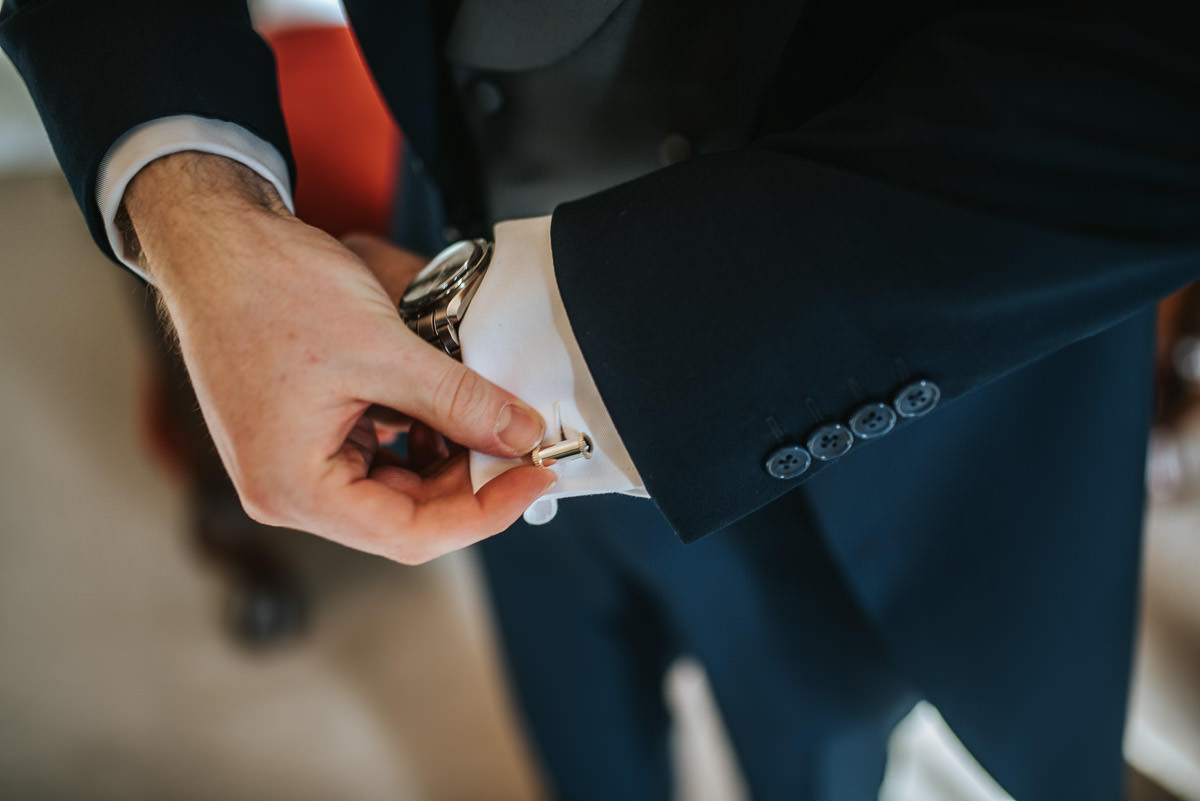 gosfield hall wedding cufflinks