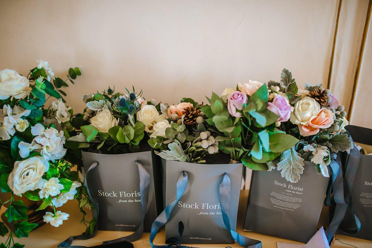 gosfield hall wedding flowers