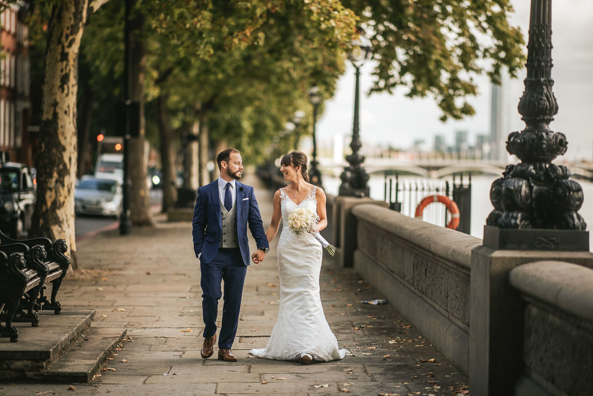 chelsea old town hall wedding couple shoot