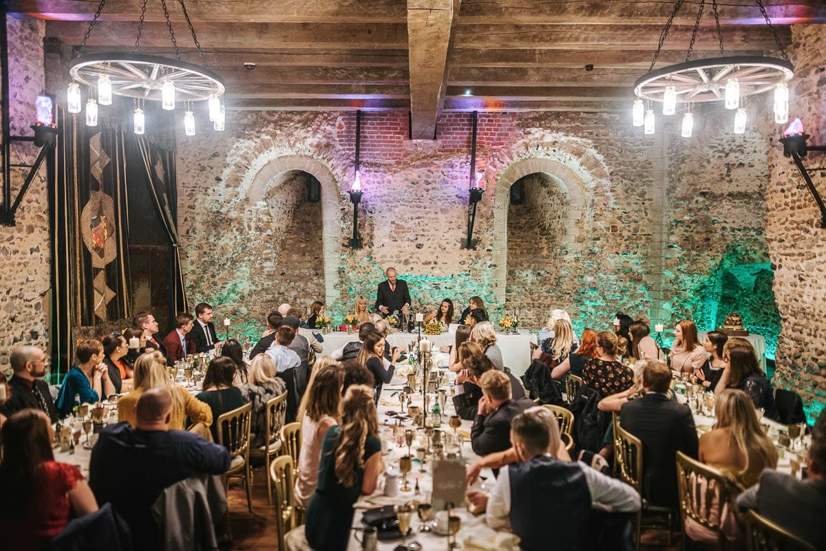 hedingham castle wedding speeches