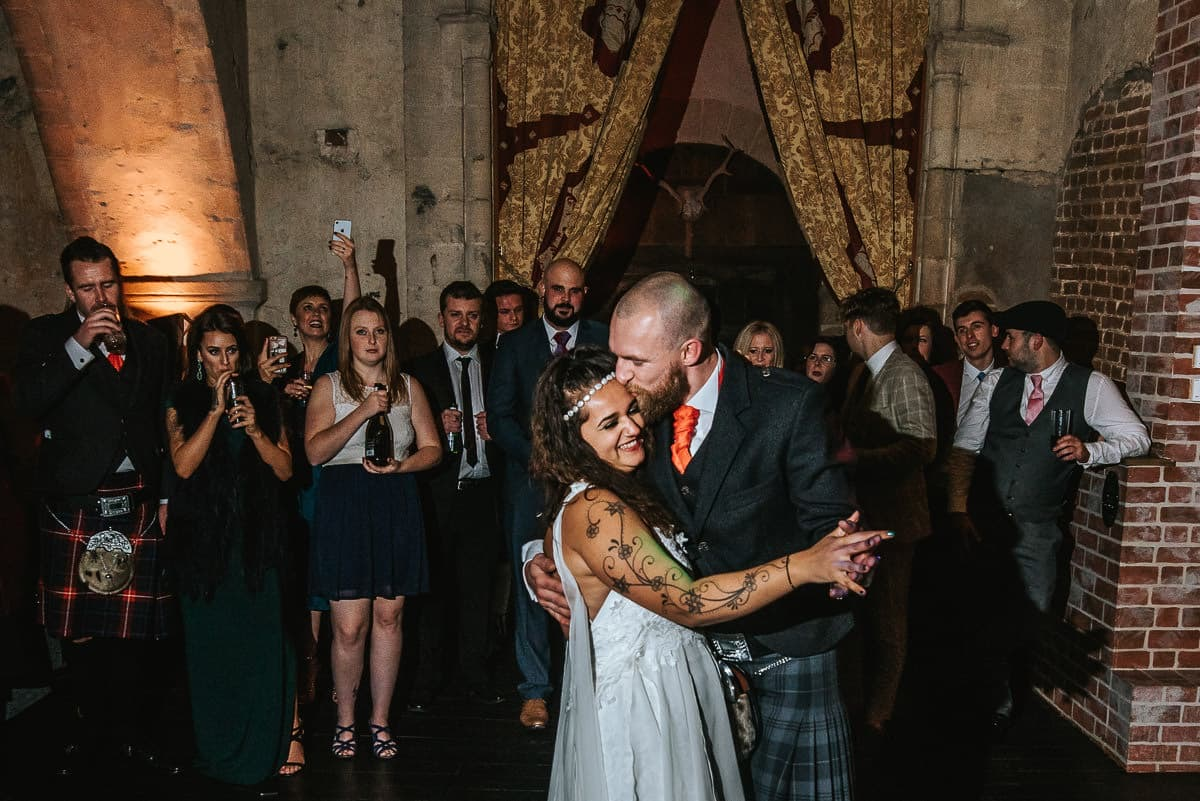 hedingham castle wedding first dance