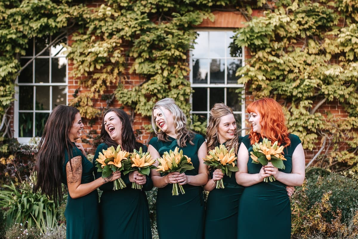 hedingham castle wedding bridesmaids