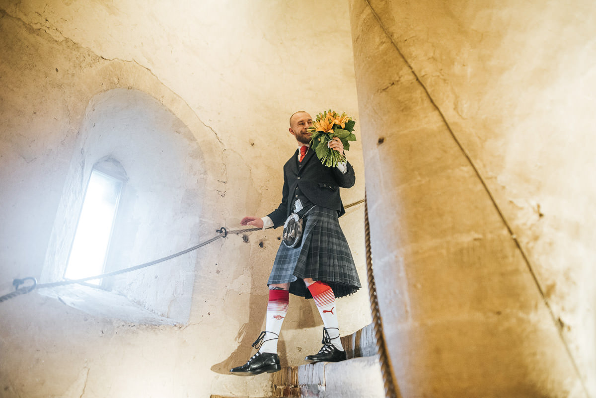 hedingham castle wedding groom