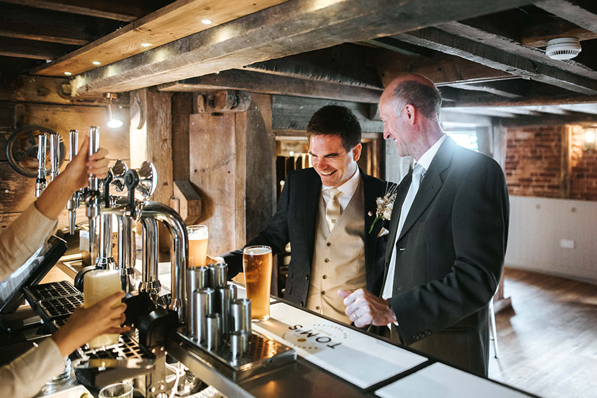 sopley mill wedding bar